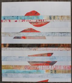 Cherlyn Wilcox | Abstract Art Collage on Paper