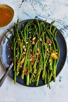 Roasted Asparagus with Citrus