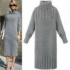 Nadire Atas on Knitted Designs Bildergebnis für пуловер свитер 2016 Knitwear Fashion, Knit Fashion, Sweater Fashion, Fashion Women, Pullover Mode, Mode Hijab, Knit Dress, Sweater Dresses, Ideias Fashion