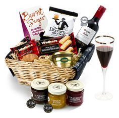 The Alcohol-Free Merry Hamper by Regency Hmapers Burnt Sugar, Christmas Hamper, Gift Hampers, Alcohol Free, Treat Yourself, Shortbread, Regency, Fudge, Special Gifts