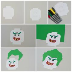 LEGO Crafts inspired by the new The LEGO Batman Movie