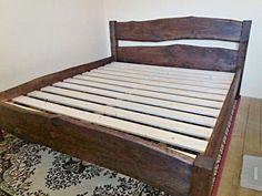 Manželská postel - masiv olše - mořeno Bed, Furniture, Home Decor, Decoration Home, Stream Bed, Room Decor, Home Furnishings, Beds, Arredamento