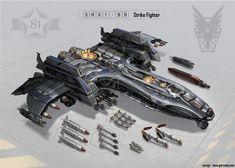 SR81-BB Strike Fighter by *GarretAJ on deviantART