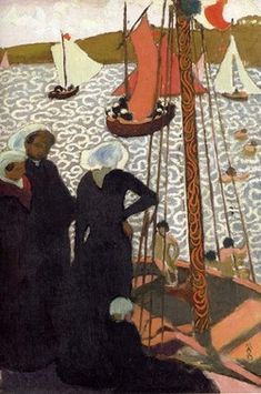 Maurice Denis, French Symbolist painter (1870-1943):