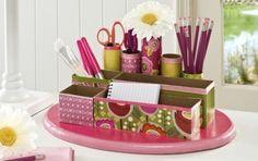 passo a passo organizador porta trecos caixa cereal e rolinho papel higienico organizar lapis canetas pinceis tesoura reciclagem (1)