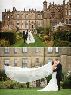 Allerton Castle Wedding - North Yorkshire - Amazing castle wedding in England! Click to view more! (photos by destination wedding photographer JoPhoto)