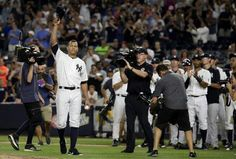 ALEX RODRIGUEZ FAREWELL THANKS FOR THE RIDE 2016