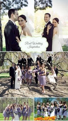 Purple Inspired DIY, Rustic Wedding | WeddingWire: The Blog
