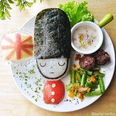 Una madre que convierte las comidas en verdaderas obras de arte