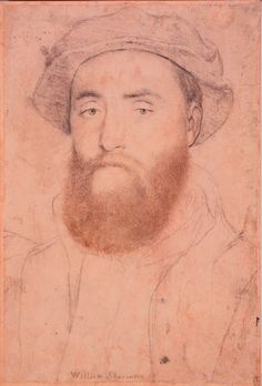 Hans Holbein the Younger, Sir William Sharington (ca. 1532-43, Royal Collection, London)