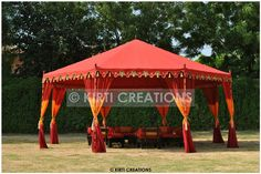 Buy wedding tent rentals, wedding party tent and outdoor wedding tent Luxury Camping Tents, Luxury Tents, Tent Camping, Glamping, Camping Cabins, Caravan Shop, Yellow Flower Girl Dresses, Indian Garden, Beach Tent