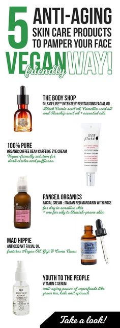 Anti-aging skin care products for face, 5 best, cause vegan-friendly! Best serums, oils and face creams for aging, skin blemishes and under eye puffiness. Vegan products for dry to sensitive skin you just must check! #skincareproducts #antiagingcreamundereyes #sensitiveskincareproducts #eyecreamsforpuffiness #AntiAgingCreamsDry