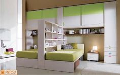 cameretta-verde-doppia-divisorio-libreria.jpg (1250×780)
