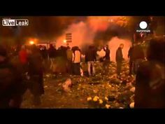 French police clash with ?eco tax? protesters in Brittany