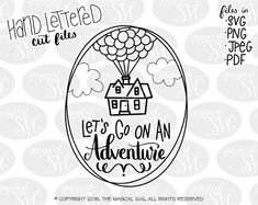 Check out our disney svg selection for the very best in unique or custom, handmade pieces from our digital shops. Silhouette Cameo Disney, Silhouette Cameo Projects, Disney Up, Disney Trips, Walt Disney, Disney Decals, Animated Gifs, Disney Silhouettes, Up Balloons