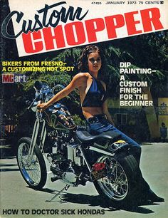 Custom Chopper was a favorite of mine at the time too. Description from motorcycleart.blogspot.com. I searched for this on bing.com/images