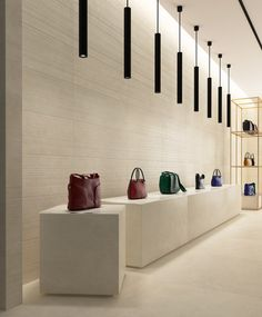 PHOTO 1 of 5 HD interior photos from Gubi Wall by Living Ceramics with tile items and online calculation of shipping expenses and lead time to the USA. Quartz Slab, Interior Photo, Ceramic Design, Stone Tiles, Commercial Interiors, Wall Tiles, Decoration, Luxury Homes, Colors