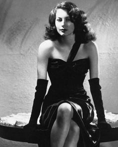 """""""I have only one rule in acting - trust the director and give him heart and soul."""" - Ava Gardner #bornonthisday"""