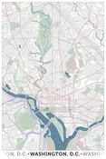 I can see my house from here! Beautiful map depicting Washington, D.C. using nothing but typography