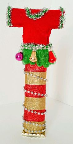 Trophy for Ugly Sweater contest. I hope its tacky enough ...
