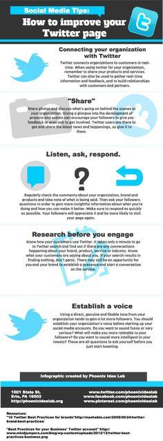 Mejorar tus publicaciones en Twitter  Vía ticsyformación  #twitter  #redessociales