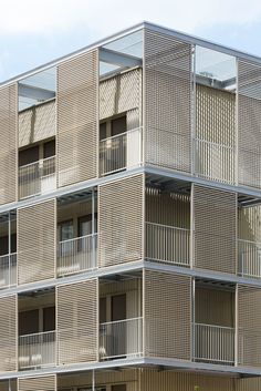 Atelier Du Pont, Luc Boegly · Rehabilitation of the shell of a social housing building · Divisare