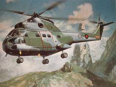 Aérospatiale SA 330 Puma - GB