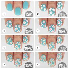 Fotos de moda | Tips para pintarse las uñas y 15 Tutoriales | http://soymoda.net