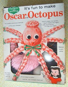 Oscar Octopus. I never made one, but I remember friends used to put them on their bed after making it up.