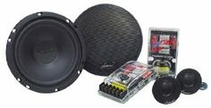 Lanzar VX6C VX 6.5-Inch Two-Way Custom Component System by Lanzar. $51.10. 6.5-Inch Midbass Driver Poly-Mica Coated Woofer Cone 1-Inch High Temperature Voice Coil Power Handling: 120 Watts RMS/240 Watts Peak Frequency Response: 50-22kHz Impedance:4 OhmsOne Pair Tweeter:.5-Inch Mylar Dome Tweeter Neodymium Magnet Tri-Way Mounting System: Flush, Swivel, Surface Mount Frequency Response: 1.3k-22k Hz Impedance: 4 OhmsOne Pair Passive Crossover Network:Two-Way Pass...