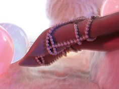 @jeffreycampbell Gaby Leather Flat #nastygal #editorial #pearls