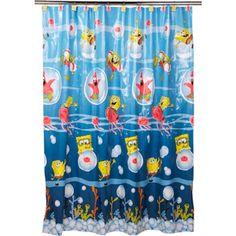 max's bathroom Nickelodeon Bath, Spongebob Set Sail ...