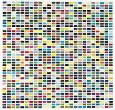 Gerhard Richter - 1025 Farben (1025 Colours)