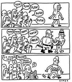 Alienação política no país.