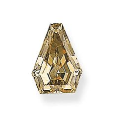 AN UNMOUNTED KITE-SHAPED COLORED DIAMOND   Weighing 6.98 carats