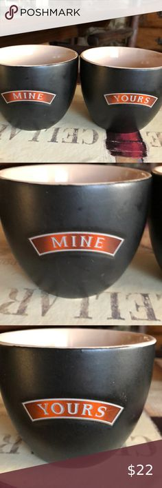 """BB Barnes """"Mine and Yours"""". Cups for a hot drink Enjoy a hot drink of coffee, tea, egg nog or cider together while you open your Christmas Gifts by the Tree. BB Barnes Other Deep Blue Doterra, Doterra Peppermint, Hello Kitty Christmas, Egg Nog, Online Thrift, Cat Mug, Tea Cups, Bb, Christmas Gifts"""