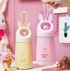 Slushie Machine, Kawaii Bunny, Vacuum Cup, Keep Food Warm, Kawaii Shop, Slushies, Kawaii Clothes, Cute Mugs, Kawaii Anime