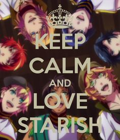 KEEP CALM AND LOVE STARISH - KEEP CALM AND CARRY ON Image Generator