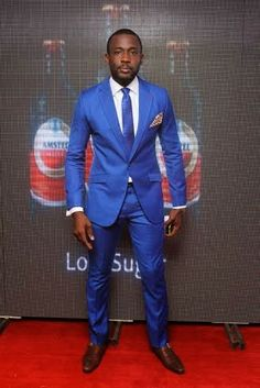 Joseph Benjamin. I do love a man with a moustache and an amazing suit to match it. I have been crushing since I saw him on my screen in #EdgeOfParadise He's a wonderful actor with a lovely personality and that's why we love him! #AMVCA 2014 #AmstelMalta #Nollywood #Naija #Nigeria #Awards #Glitz #Glamour #RedCarpet