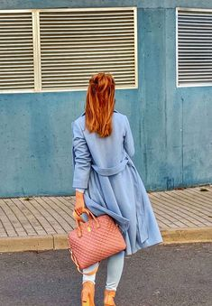 #babybluestylish #coat #longcoat #pinkhandbags #handbagaccessories #shoes #messybun #messyhairstyles # What I Wore, Everyday Fashion, Baby Blue, Gucci, Neckline, Shirt Dress, Sunglasses, My Style, Coat
