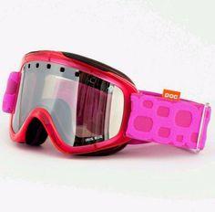 POC  Pink Ski Goggles Iris Bug Medium Anti Fog Anti Scratch New #POCIrisBug