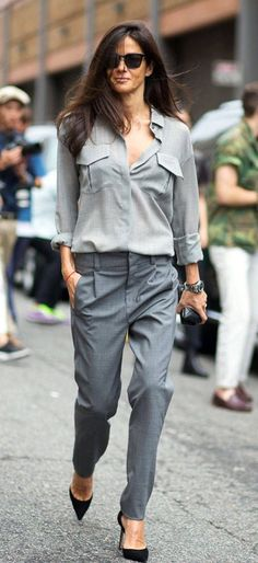 All grey // workwear Esther Style