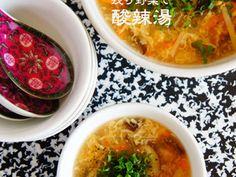 残り野菜で酸辣湯(サンラータン)の画像 Stove Top Recipes, Quick Meals, Soups And Stews, Cheeseburger Chowder, Thai Red Curry, Noodles, Oven, Lunch Box, Food And Drink