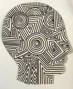 interesting op art idea