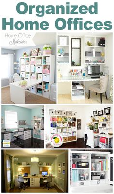 Organized Home Offices | Homes.com Inspiring You to Dream Big
