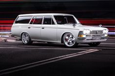 Luke's Toyota Crown Wagon by Ben Hosking on 500px