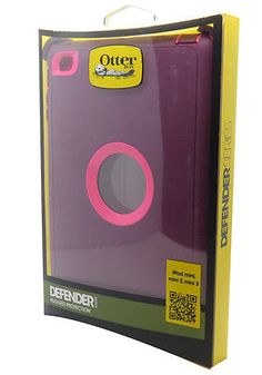 55243 computers NEW Otterbox Defender Series Case Cover For Ipad Mini 3, 2 1 Crushed Damson Pink  BUY IT NOW ONLY  $35.95 NEW Otterbox Defender Series Case Cover For Ipad Mini 3, 2 1 Crushed Damson Pink...