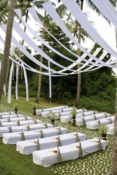 White ceremony benches   Lynley Events Bali   www.lynley.net