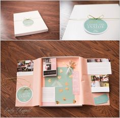 Client welcome guide and marketing kit from a Columbia wedding photographer