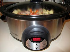 Food Marriage: Crock Pot Recipe: Beef Stew